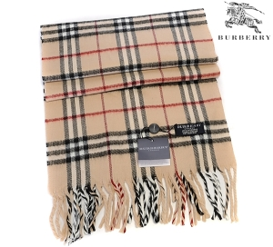 Burberry_Classic_Wool_Check_Scarf_Dark_Yellow