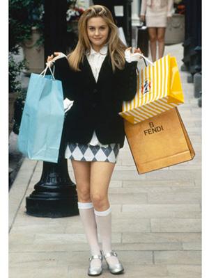 "alt=""cher clueless"", alt=""cher clueless shopping"", alt=""cher clueless knee socks"""