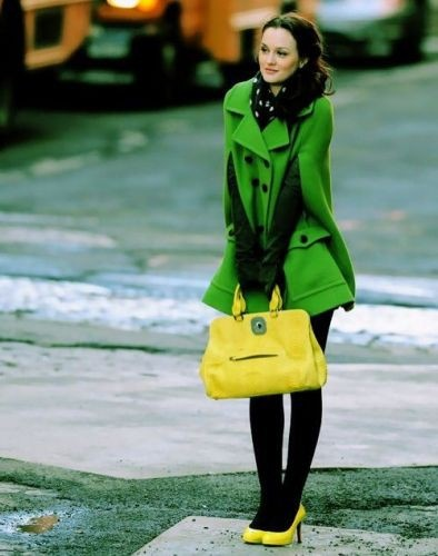 "alt=""blair waldorf green cape"", alt=""blair waldorf winter"""