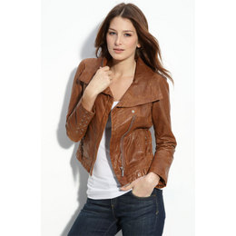 "alt=""my first nordstrom rack experience"", alt=""clearing preppy's name"", alt=""brown leather jacket"""