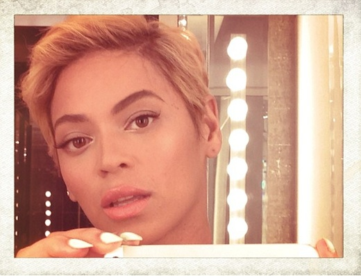 "alt=""beyonce got a hair cut"""
