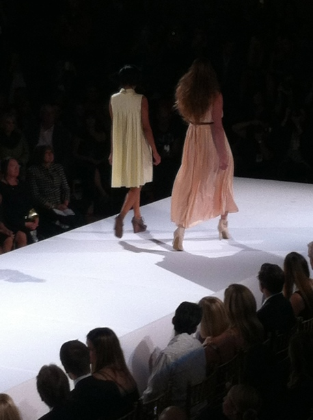 There were some romantic looks mixed in., marc ella new york, buffalo fashion week