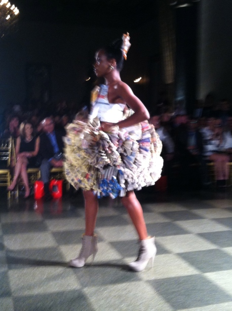 So many unconventional designs!, buffalo fashion week