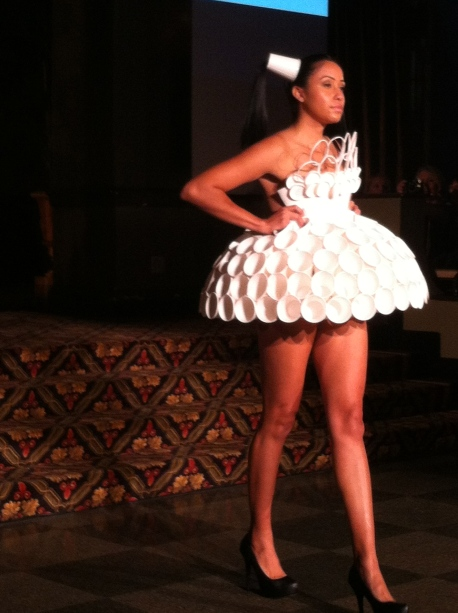 Maria Allen's Cup Dress, buffalo fashion week