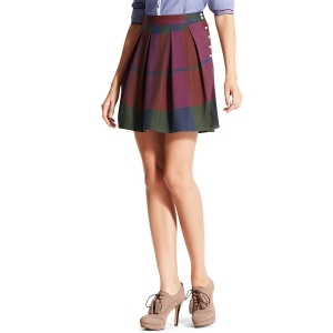 tommy hilfiger plaid skirt, high waisted tommy hilfiger skirt, plaid mini skirt, christmas tommy hilfiger skirt, the best sales of black friday 2013