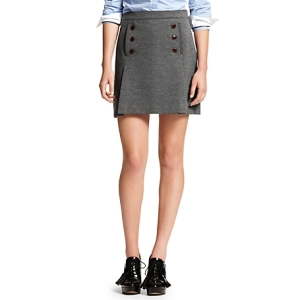 ponte skirt tommy hilfiger, grey skirt tommy hilfiger, preppy grey skirt, the best sales of black friday 2013