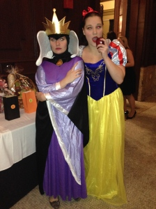 Cocktails in Character -Fundraiser for Literacy NY, evil queen and snow white