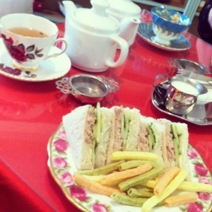 afternoon tea, madam clifford's tea room,