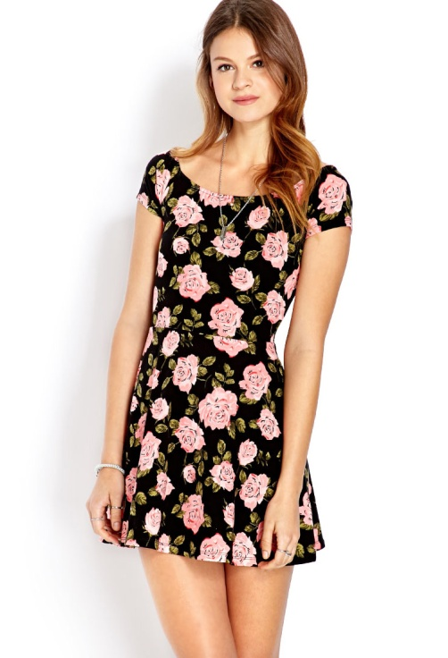 floral valentines dress, preppy dress, valentines day outfit ideas