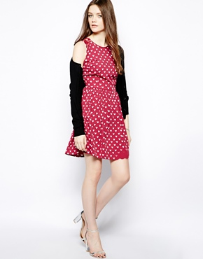 heart tall dress, valentines day dress