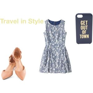 travel outfit, sundress, memorial day outfit, kate spade phone case, travel cute, memorable outfit